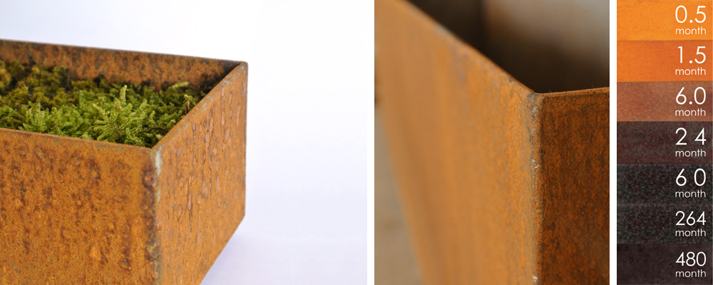 CORTEN PLANTER RECTANGLE
